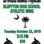 Athletic Physicals at Bluffton High School 10/22/19