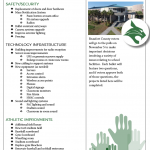 Referendum Projects for Bluffton High School