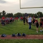 Pictures from Football vs. Butler (PeeWee Night)