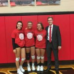 Girls Varsity Volleyball Falls to Kenton Ridge in 5 Sets on Senior Night