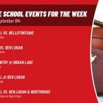 Middle School Events for the Week of September 9th