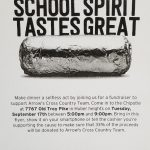 Chipotle – Cross Country Team – 9/17/19