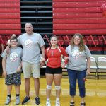 Volleyball Senior Night October 10, 2019