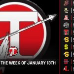 High School Events for the Week of January 13th