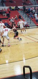 Boys Basketball Pictures from Bellefontaine Game (2/14/20)