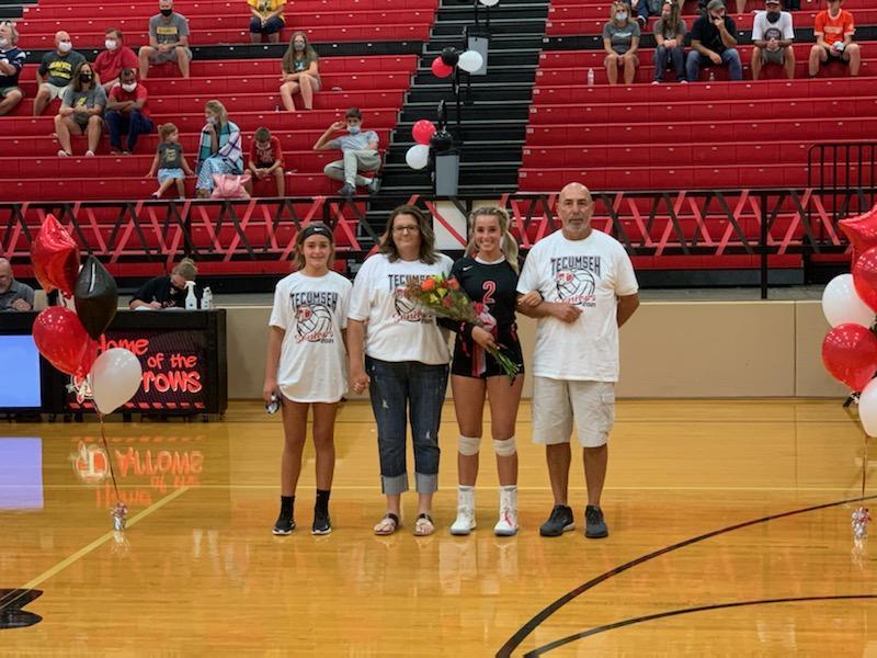 Volleyball Senior Night 9/10/20