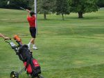 Boys Golf Action from the CBC Tournament