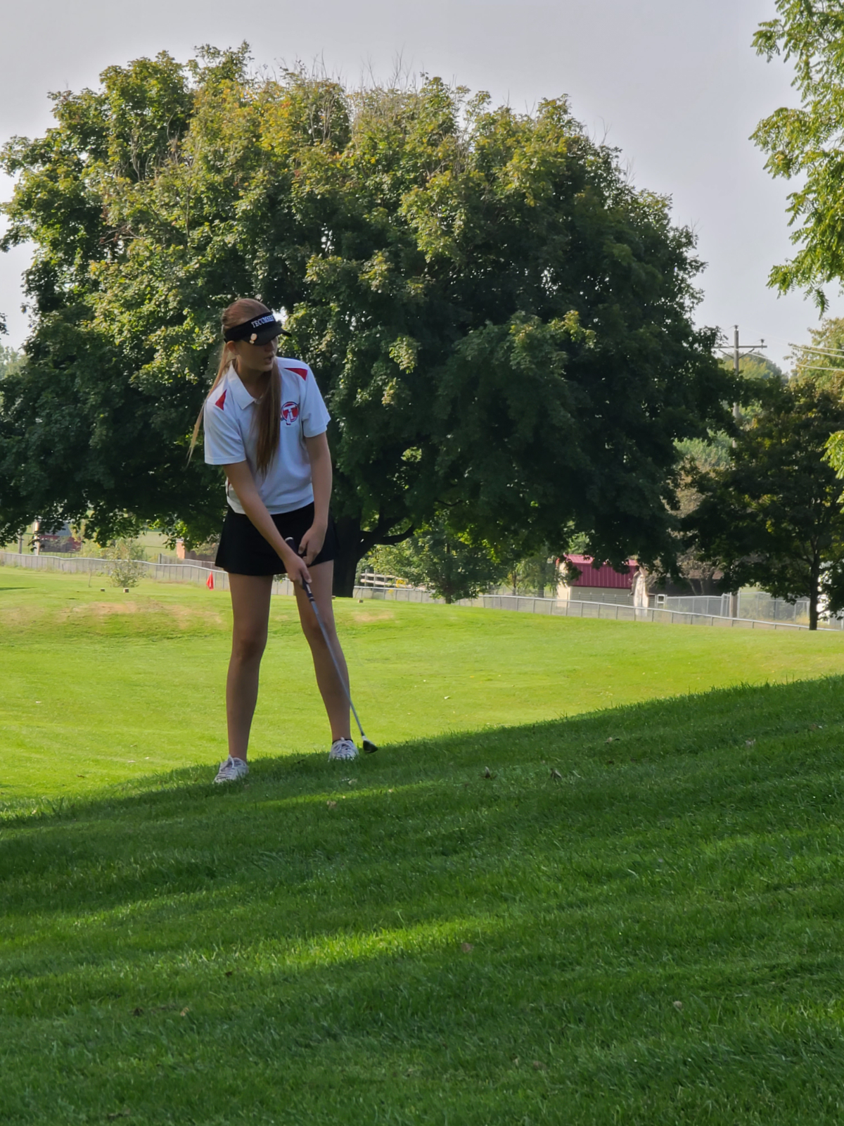 Girls Golf Action From the CBC Tournament