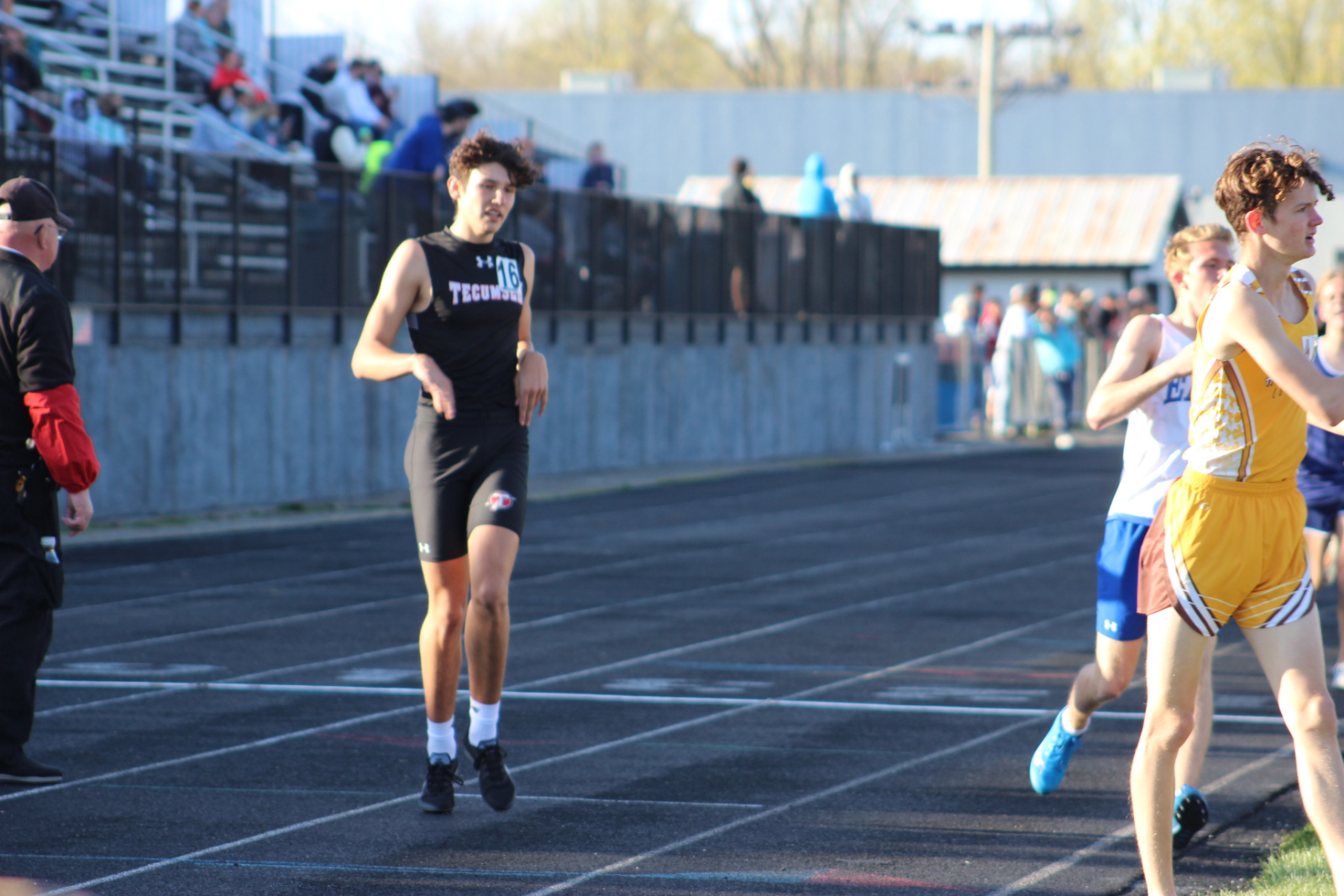 Track Photos from April 12th and 14th