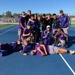 BOYS TENNIS OAA BLUE CHAMPS
