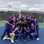 Boys Tennis win MHSAA Regional Tennis Championship!