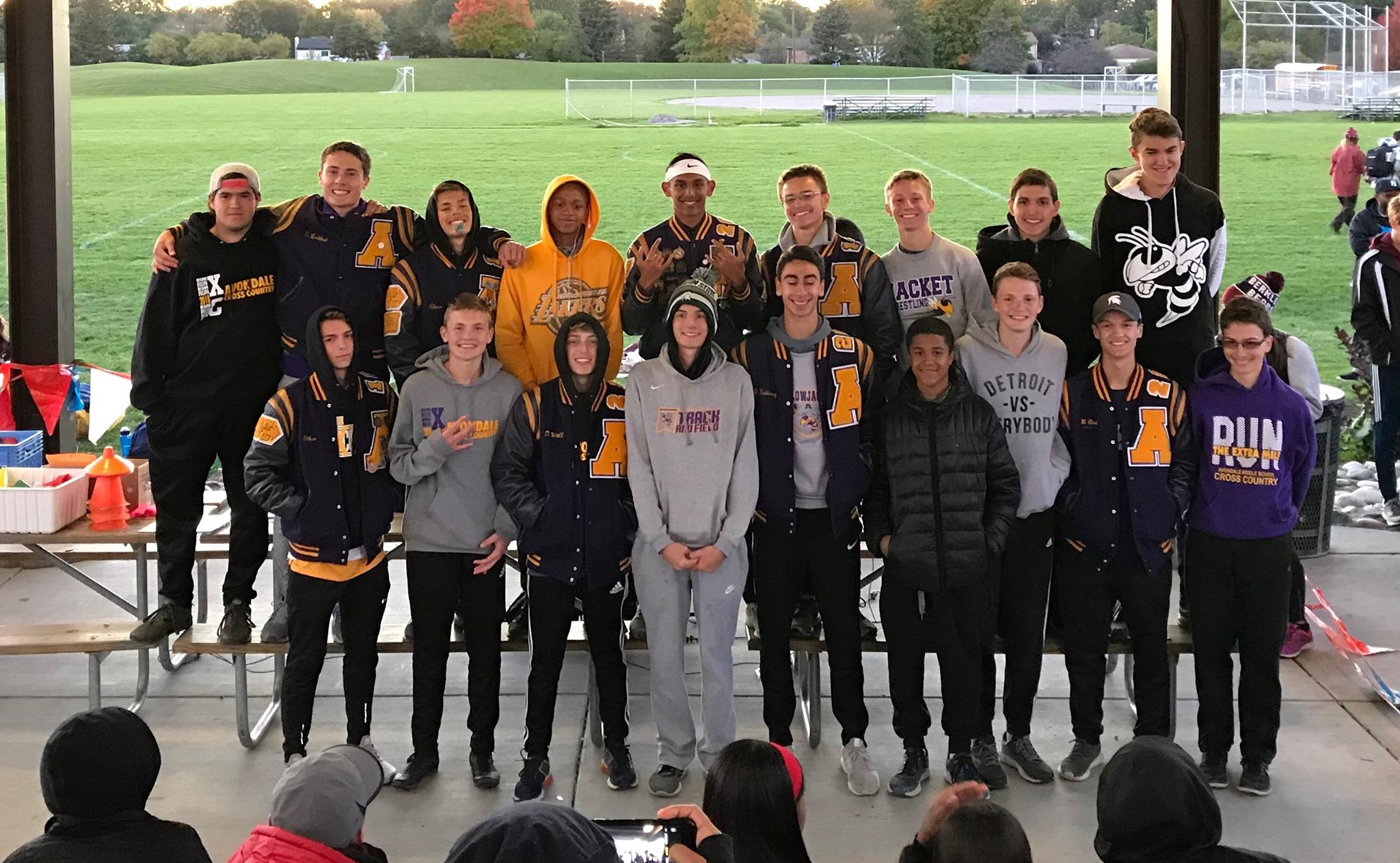 Boys Cross Country are OAA Blue Champs!