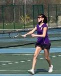 Girls Varsity Tennis falls to Farmington 8 – 0