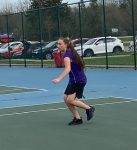 Girls Varsity Tennis wins 7 – 1 in non-league contest