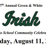 7th Annual Green & White Day 8/11/18