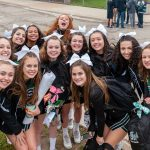 Irish Cheer Team Serving & Spreading Spirit