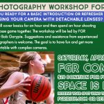 Sports Photography Workshop