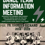 Dance Team Prospective Member & Parent Meeting – May 22nd @ 6pm!