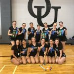 Dance Team Represents FGR With All Blue Ribbons