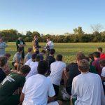 FGR Alumnus Dan White visita FGR Football