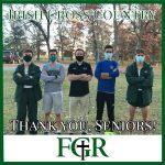 Thank you XC Seniors!