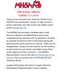 MHSAA Update – 12/7/2020