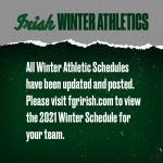 Winter Athletics Protocols