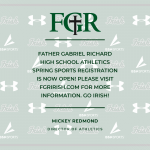 Spring Sports Registration is Now Open!
