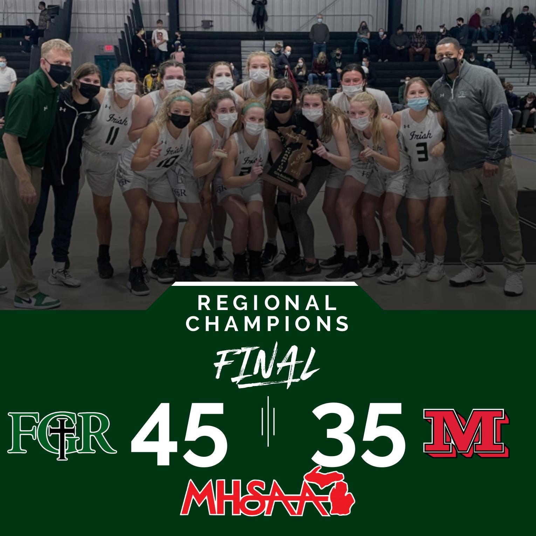 Regional Champs!
