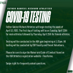 Covid-19 Testing Information