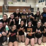 Girls Junior Varsity Volleyball Sweeps Saint Catherines in Conference Opener