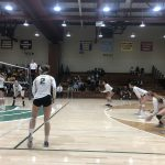 Girls Varsity Volleyball Goes to Five Games Against Dominican