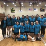 Girls Junior Varsity Beats Dominican to Remain Undefeated in Conference Play