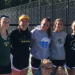 Girls Varsity Tennis finishes 3rd place at Conference