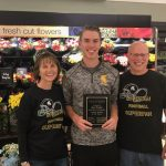 Spartan Senior Football Player, Ben Dreher, receives honor