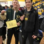 Varsity Wrestling finishes 9th place at Invitational @ Marquette High School