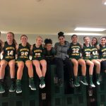 Girls Varsity Basketball beats Dominican 67 – 37 as Kallas reaches program milestone.