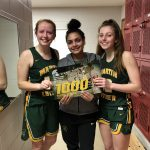 Lady Spartans fall to Marshall 73 – 58 in WIAA Regional Final; Jensen reaches 1,000 point milestone