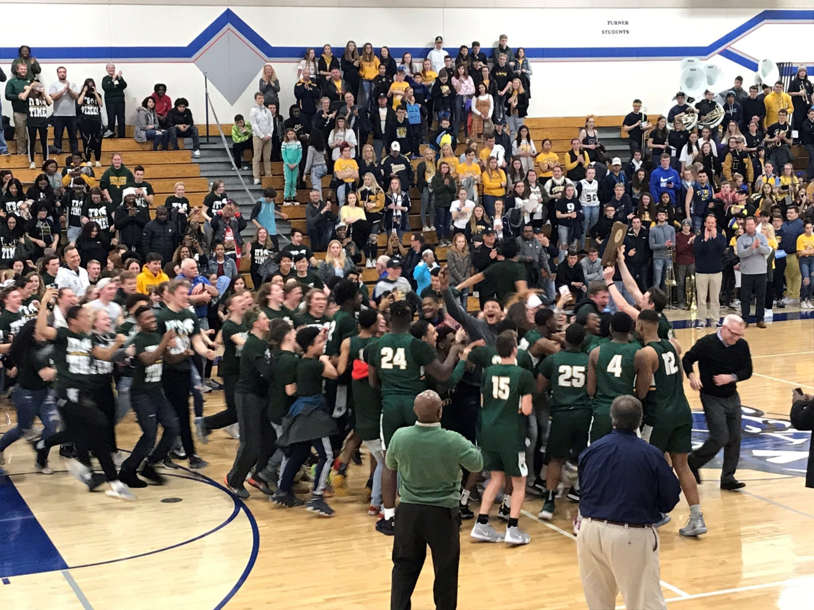 Spartan Boys Hoops are going to State!