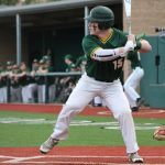 Hoppert's arm, Crawley's bat pace Baseball to conference road victory