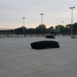 New Tennis Courts almost ready!
