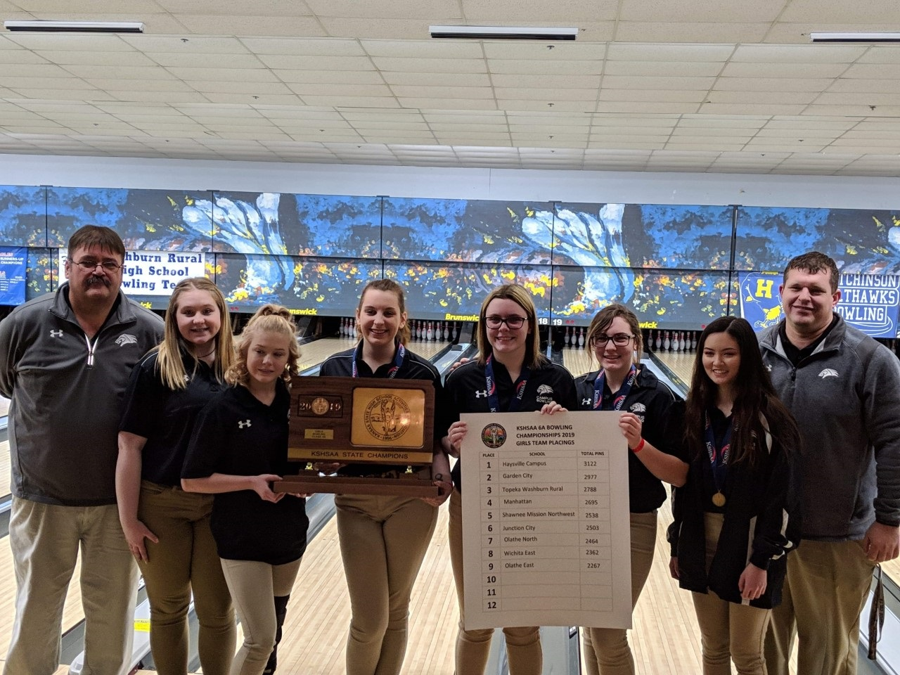 6A State Bowling Champs!