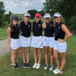 Girls Golf Opens Season With a Split