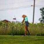 Girls Golf Competes in Roncalli Invite