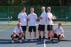 Boys Tennis vs Danville (Senior Night) 09-05-2018