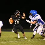 Football Stays Unbeaten on Homecoming, Bronger Sets Rushing Record