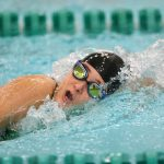 Swimmers Get Several PRs, Fink Sets Two New Records