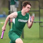 Boys Track Wins Tri-Meet