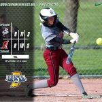 Softball Loses Lead to Speedway