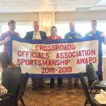 CCHS Wins COA Sportsmanship Award